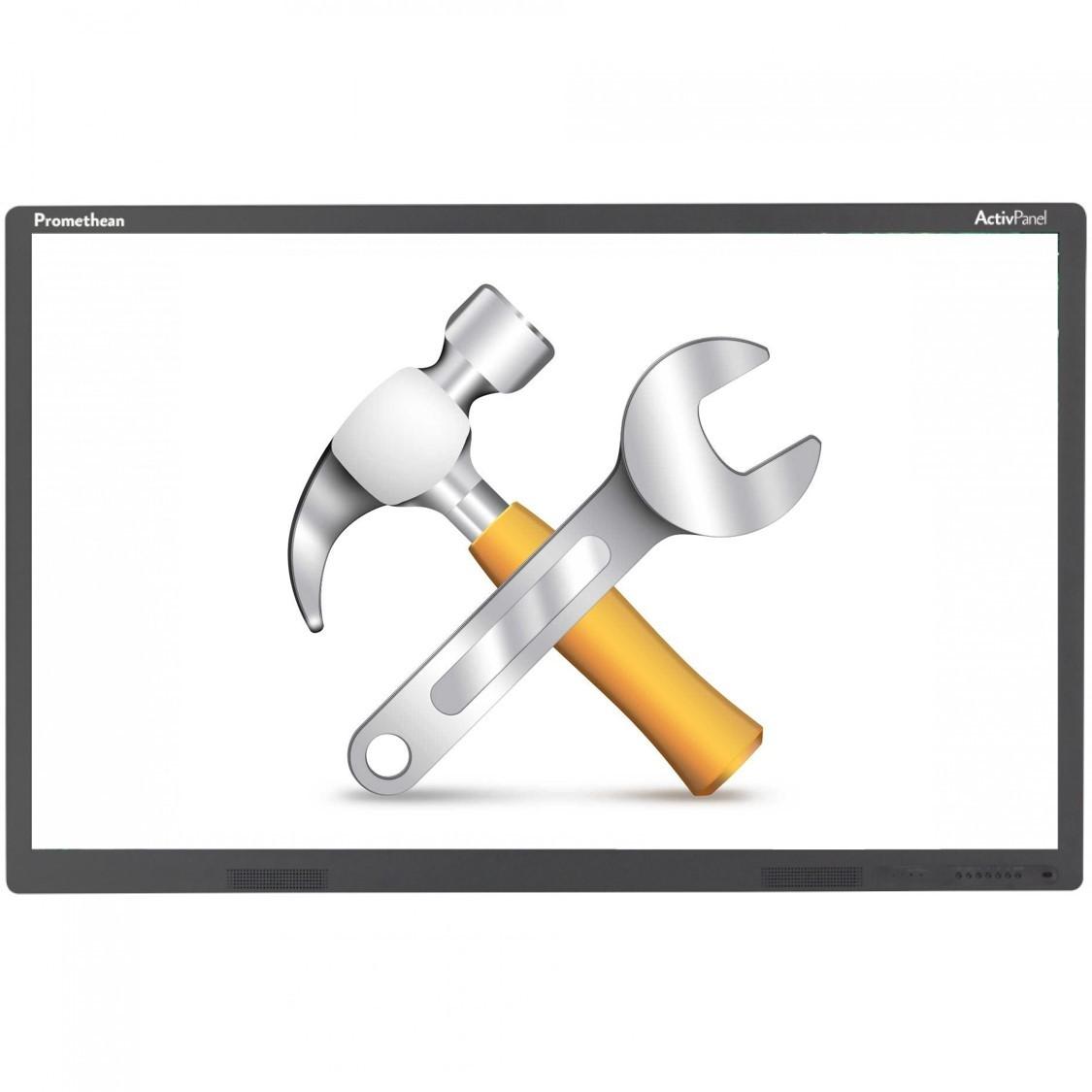 Forfait d'installation d'un écran interactif et de son support