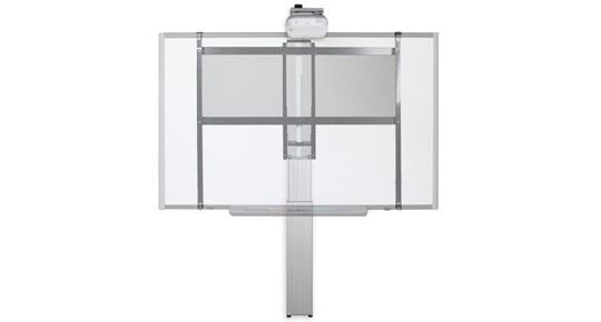 Support mural motorisé SCETAW-IWB pour tableau blanc interactif