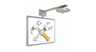 Forfait installation - accessoires inclus (Moulures, câble HDMI ou VGA, Boitier mural)