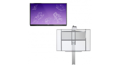 ActivPanel Nickel - Support fixe, hauteur ajustable