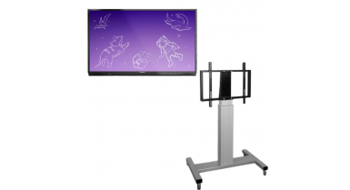 ActivPanel Nickel - Support mobile, hauteur ajustable