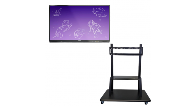 ActivPanel Nickel - Support mobile, hauteur fixe