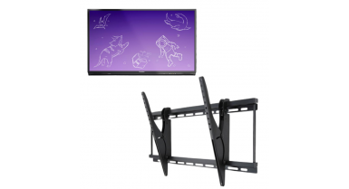 Activpanel Nickel - Support mural gratuit