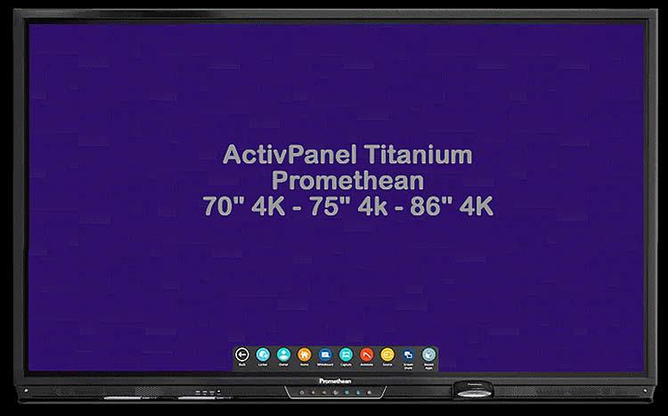 Ecran ActivPanel Titanium Promethean Gagnant ISTE 2020