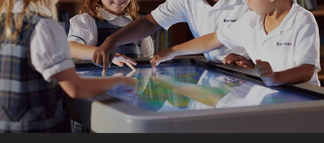 table interactive tactile promethean activtable