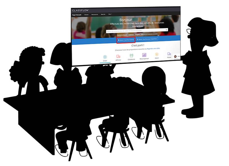 Classflow salle de classe