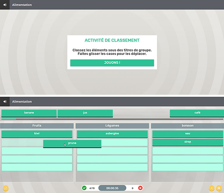 outil classification classflow