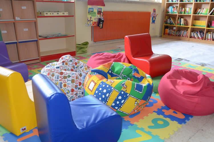 Salle de classe flexible